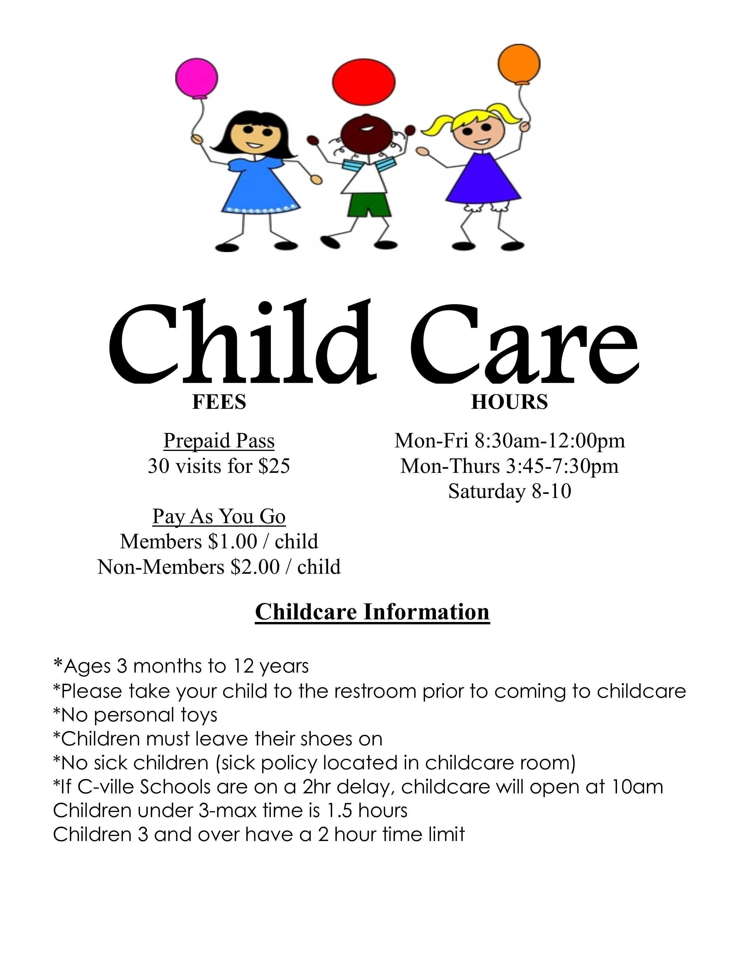 It is a picture of Free Printable Daycare Flyers pertaining to tear off
