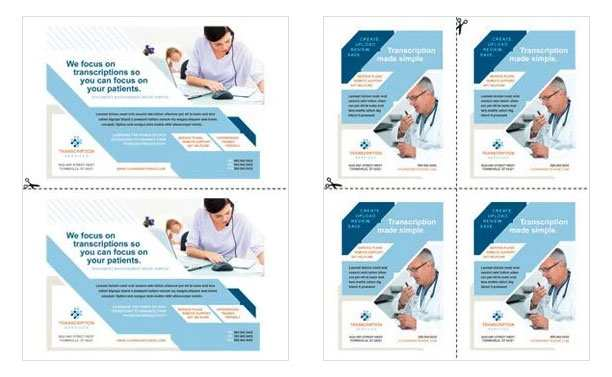 41 Blank 4 Up Flyer Template Layouts by 4 Up Flyer Template