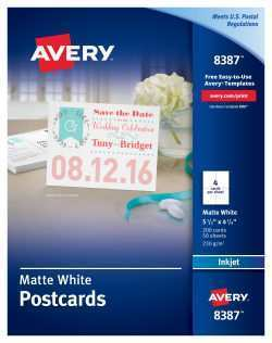 41 Blank Avery 4X6 Postcard Template in Word with Avery 4X6 Postcard Template