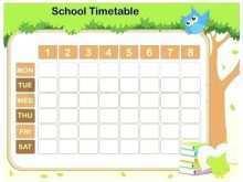 41 Blank Class Schedule Template Powerpoint in Photoshop with Class Schedule Template Powerpoint