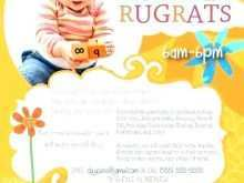 41 Blank Daycare Flyer Templates for Daycare Flyer Templates