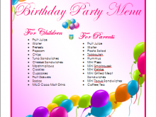 41 Blank Free Birthday Flyer Template Word Maker for Free Birthday Flyer Template Word