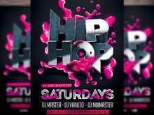 Hip Hop Party Flyer Templates