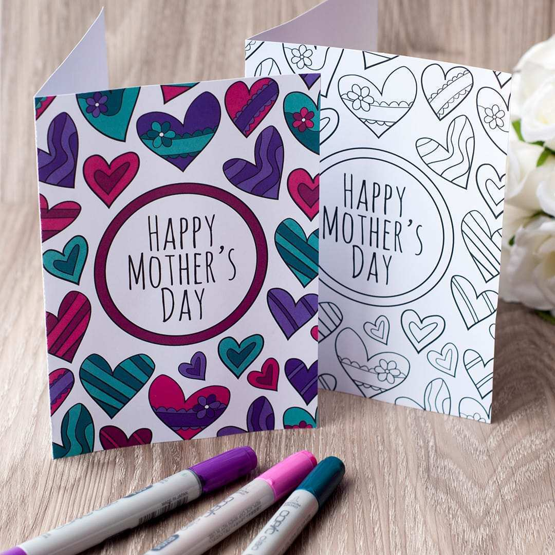 41 Blank Mother S Day Card Pages Template in Photoshop for Mother S Day Card Pages Template