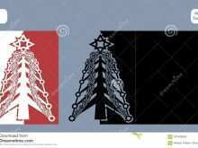 41 Creating 4 Fold Christmas Card Template With Stunning Design with 4 Fold Christmas Card Template