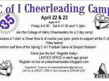 41 Creating Cheer Camp Flyer Template in Photoshop by Cheer Camp Flyer Template