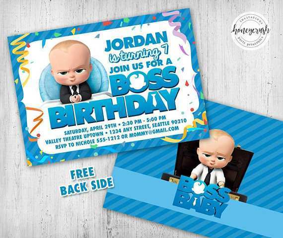 41 Creative Birthday Card Template For Boss For Free with Birthday Card Template For Boss