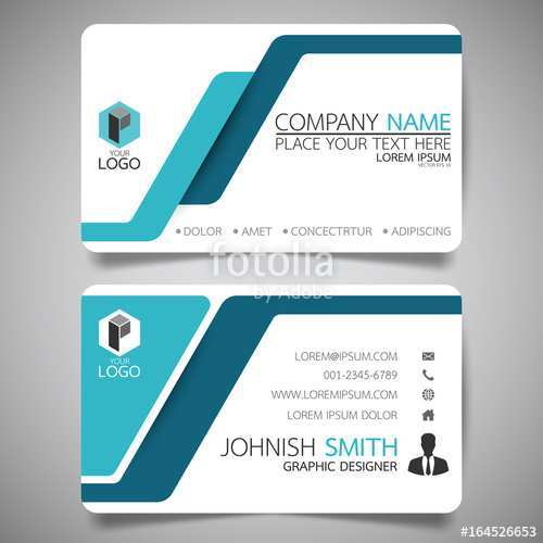 41 Creative Business Card Size Template Vector For Free with Business Card Size Template Vector