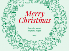 41 Creative Christmas Card Templates For Photos Now by Christmas Card Templates For Photos
