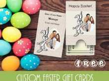 41 Creative Easter Gift Card Templates For Free by Easter Gift Card Templates