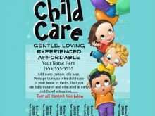 41 Creative Home Daycare Flyer Templates With Stunning Design by Home Daycare Flyer Templates