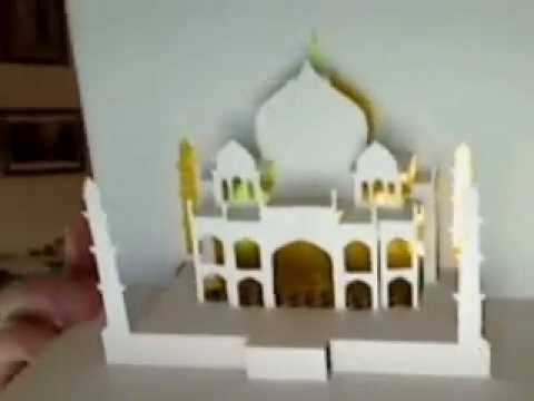 41 Creative Pop Up Taj Mahal Card Tutorial Origamic Architecture Download with Pop Up Taj Mahal Card Tutorial Origamic Architecture