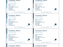 41 Customize Blank Business Card Template In Word For Free with Blank Business Card Template In Word