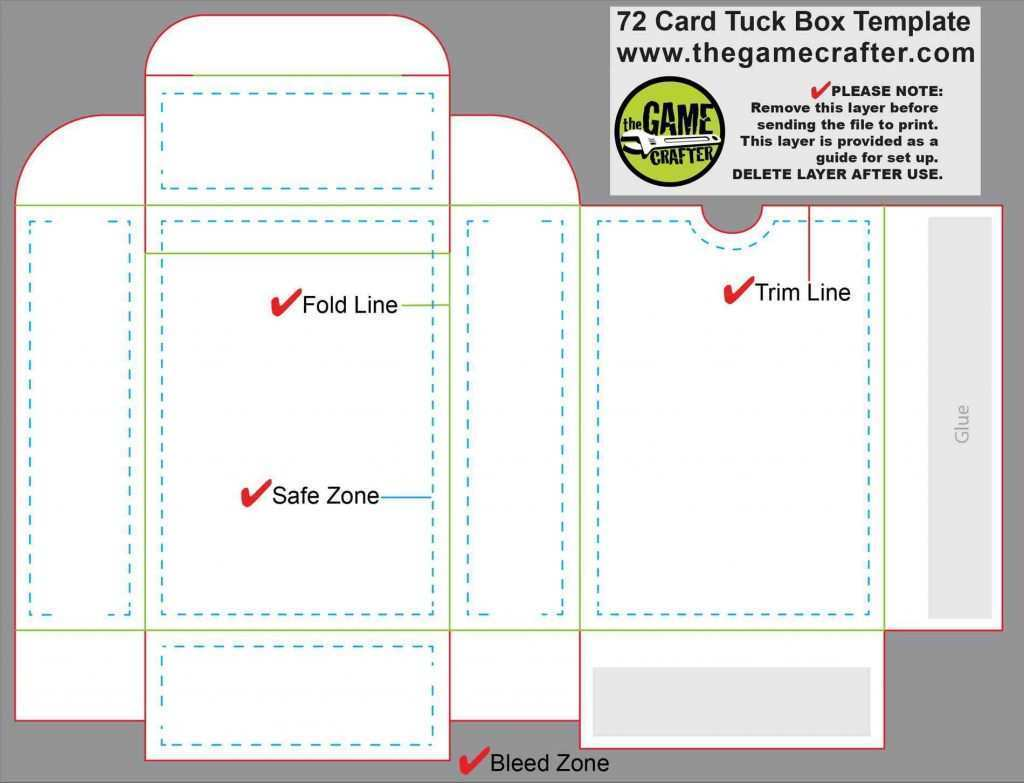 21 Customize Our Free Card Box Template Generator Layouts by Card Intended For Card Box Template Generator