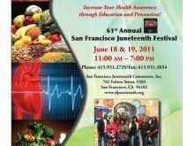 Wellness Flyer Templates Free