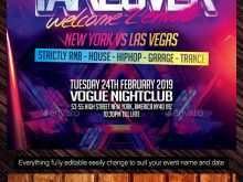 41 Format Nightclub Flyer Template in Word with Nightclub Flyer Template