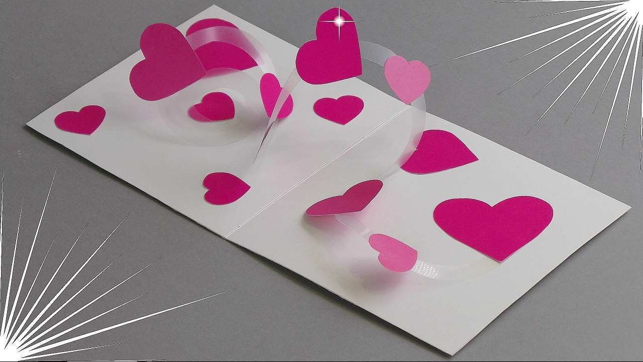 41 Format Pop Up Card Tutorial Valentine PSD File by Pop Up Card Tutorial Valentine