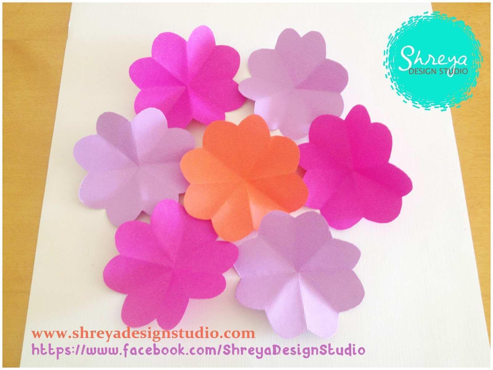 41 Free Printable 3D Flower Pop Up Card Tutorial Step By Step Layouts by 3D Flower Pop Up Card Tutorial Step By Step