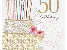 41 Free Printable 50Th Birthday Card Template Free Templates with 50Th Birthday Card Template Free