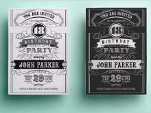 41 Free Printable Birthday Invitation Card Template Ai For Free for Birthday Invitation Card Template Ai