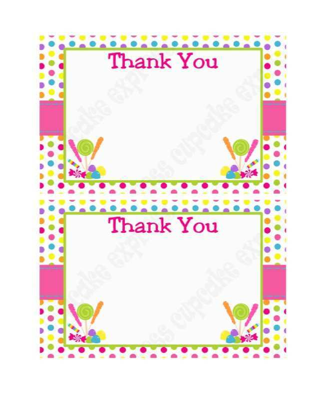 41 Free Printable Thank You Card Template Images PSD File by Thank You Card Template Images
