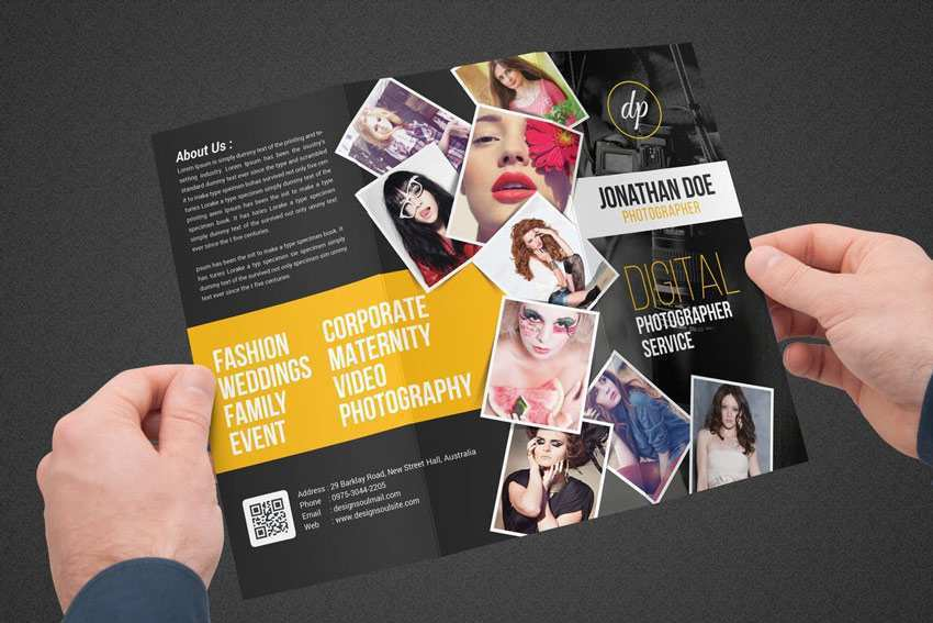 41 How To Create Collage Flyer Template Psd File For Collage Flyer