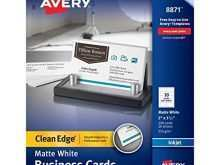 41 Printable Avery A4 Business Card Template for Ms Word with Avery A4 Business Card Template