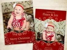 41 Printable Christmas Card Template Photographer PSD File with Christmas Card Template Photographer