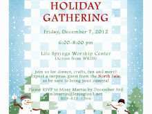 Holiday Event Flyer Template