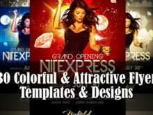 41 Standard Attractive Flyer Templates Maker with Attractive Flyer Templates