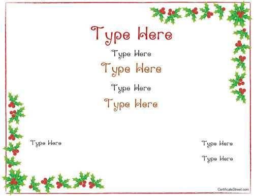 41 Standard Blank Christmas Card Template Printable Now by Blank Christmas Card Template Printable