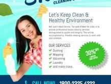 41 Standard Cleaning Services Flyer Templates Templates with Cleaning Services Flyer Templates