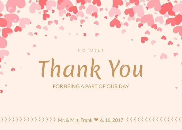 41 Standard Thank You Card Template Images Templates with Thank You Card Template Images