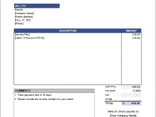 42 Best Basic Consulting Invoice Template for Ms Word with Basic Consulting Invoice Template