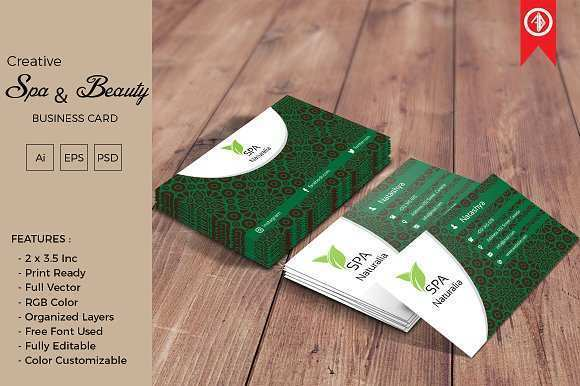 42 Best Business Card Template Spa Photo for Business Card Template Spa