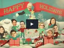 42 Best Christmas Card Template After Effect Layouts by Christmas Card Template After Effect
