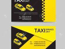 42 Business Card Template Taxi Now with Business Card Template Taxi