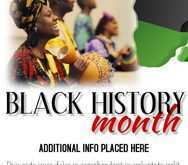42 Create Black History Month Flyer Template Free Now by Black History Month Flyer Template Free