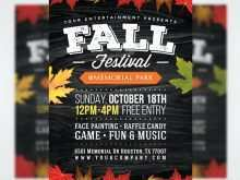 Free Fall Flyer Templates