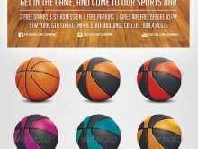 42 Creating Basketball Game Flyer Template PSD File for Basketball Game Flyer Template