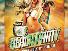 42 Customize Beach Party Flyer Template Free Psd Templates for Beach Party Flyer Template Free Psd