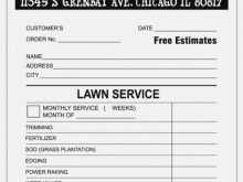 Lawn Care Invoice Template