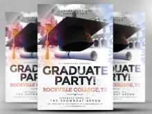 42 Customize Our Free Graduation Party Flyer Template Formating with Graduation Party Flyer Template