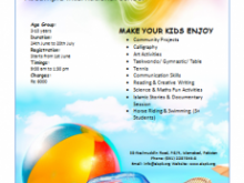 42 Customize Our Free Summer Camp Flyer Template PSD File for Summer Camp Flyer Template