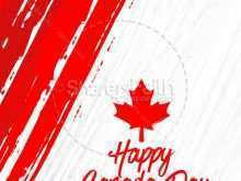 42 Format Canada Day Flyer Template Maker with Canada Day Flyer Template