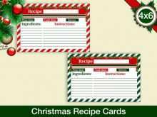 42 Format Christmas Recipe Card Templates PSD File for Christmas Recipe Card Templates