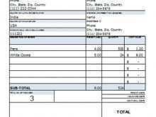 42 Format Invoice Samples Excel in Photoshop with Invoice Samples Excel