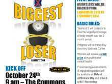 42 Free Biggest Loser Flyer Template with Biggest Loser Flyer Template