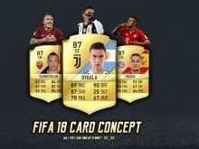 42 Free Card Template Fifa 18 Photo for Card Template Fifa 18