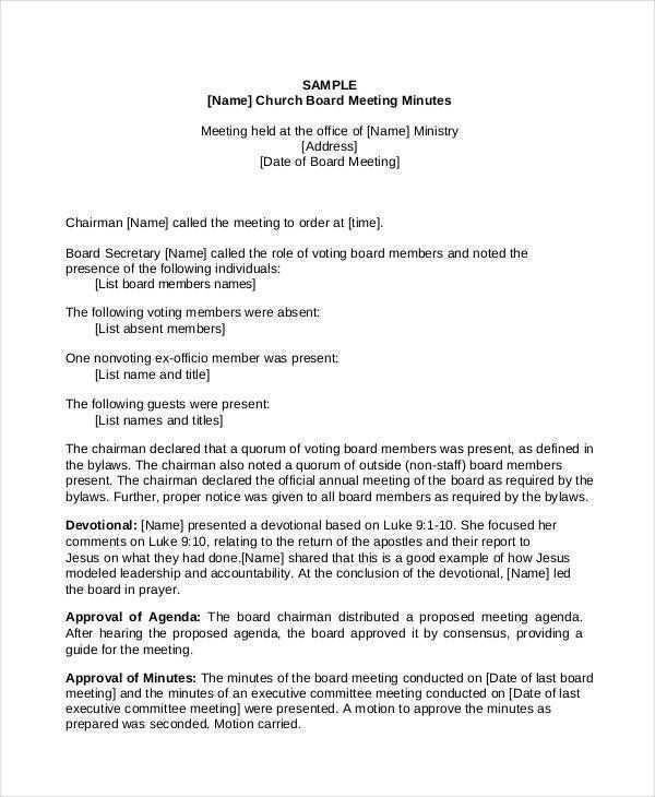 42 Free Printable Church Ministry Meeting Agenda Template Download by Church Ministry Meeting Agenda Template
